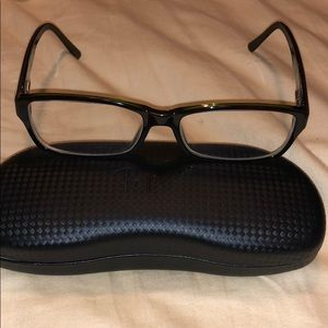 Ray ban glasses black w green RB 5169 2383 54016